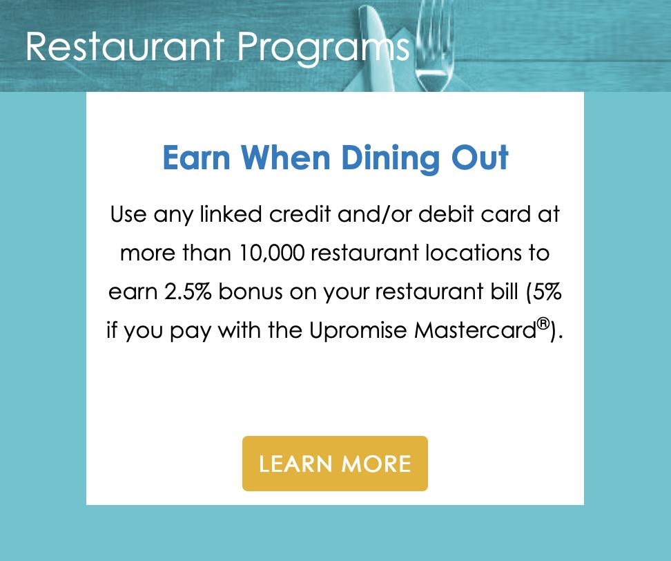Restaurant Programs